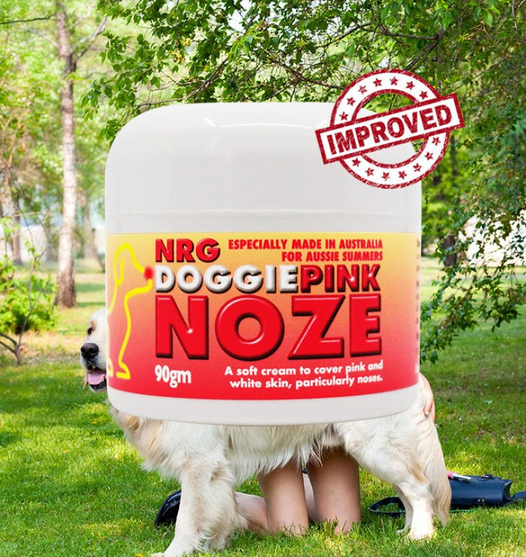 New Improved NRG Noze Protection for Dogs